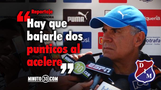 Juan Jose Pelaez sistema ofensivo Medellin