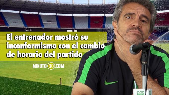 Juan Manuel Lillo preocupa clima