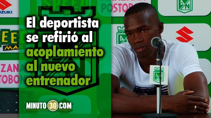 Rodin Quinones confia que ante Bucaramanga seguiran mejorando