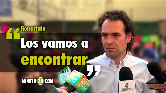 Federico Gutiérrez - Alcalde de Medellín. Foto/Captura de panatlla