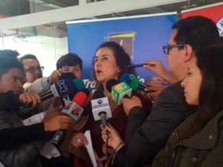 Alexandra Rojas, gerente del Transmilenio