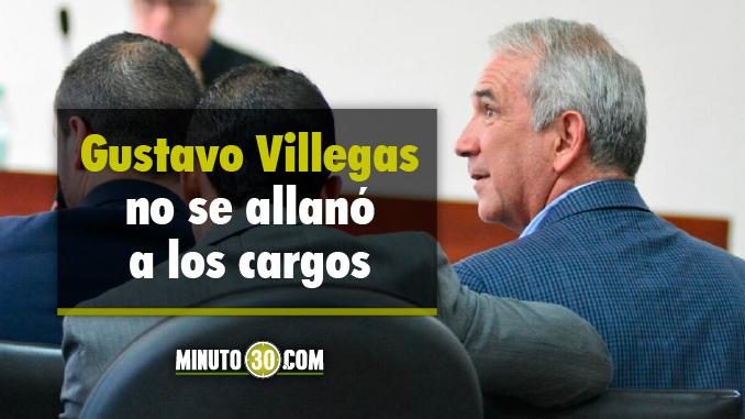 Gustavo Villegas en audiencia desarrollada hoy 5 de julio en el Palacio de Justicia. Foto/Minuto30