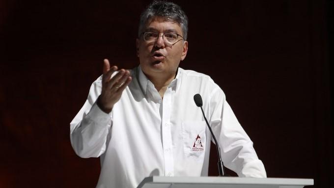 El ministro de Hacienda y Crédito Público de Colombia, Mauricio Cárdenas Santamaría