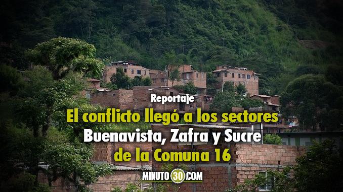 Corregimiento de Altavista. Foto/Archivo