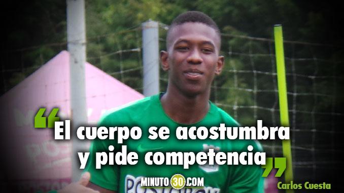 Carlos Cuesta regreso competencia