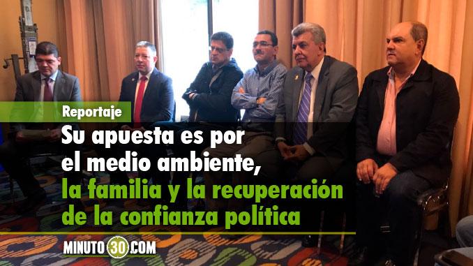 La presentación del movimiento se realizó hoy en Medellín. Foto/Minuto30