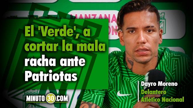 Dayro Moreno Nacional