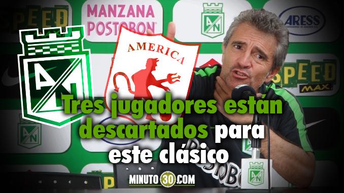 Juan Manuel Lillo bajas America