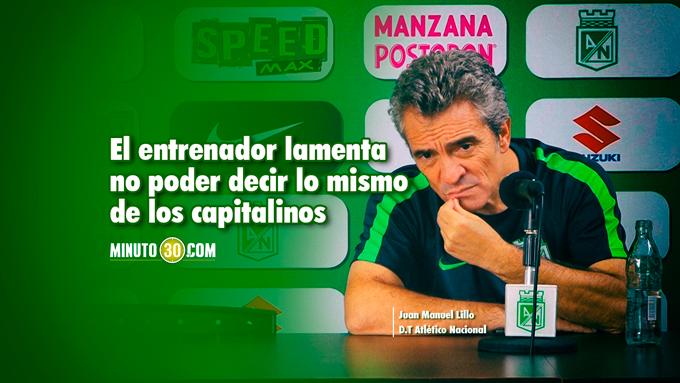 Juan Manuel Lillo habla de clasicos