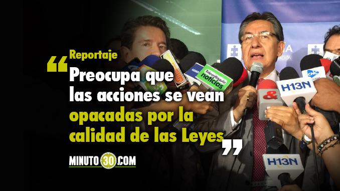 Néstor Humberto Martínez Fiscal General de la Nación. Foto/Minuto30
