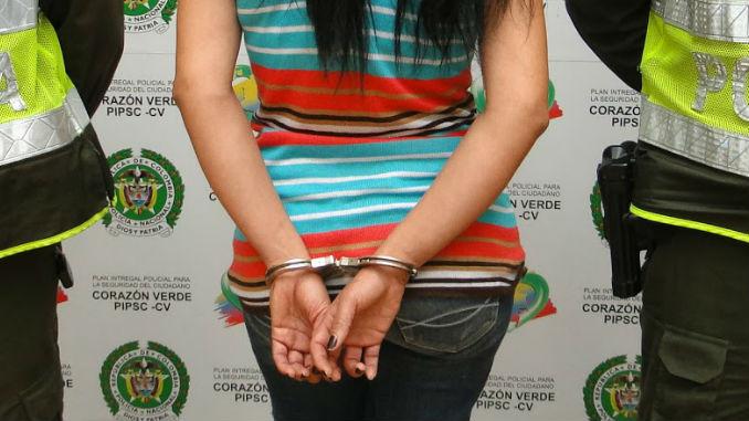 Mujer Capturada