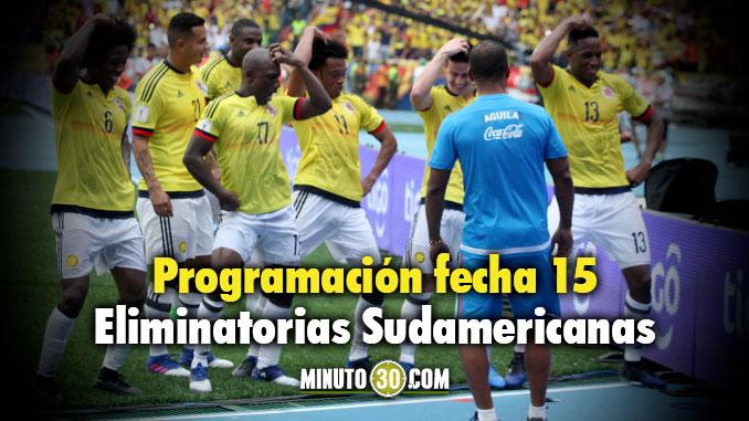 Programacion Eliminatorias Sudamericanas