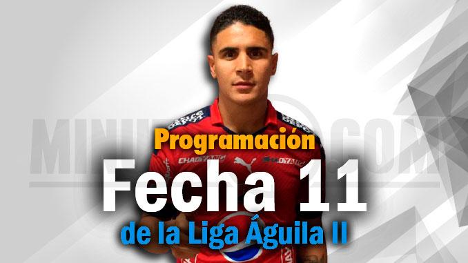 Programacion fecha11 Liga A