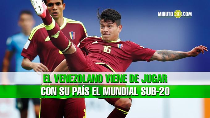 Ronaldo Lucena jugo Mundial sub20 Venezuela