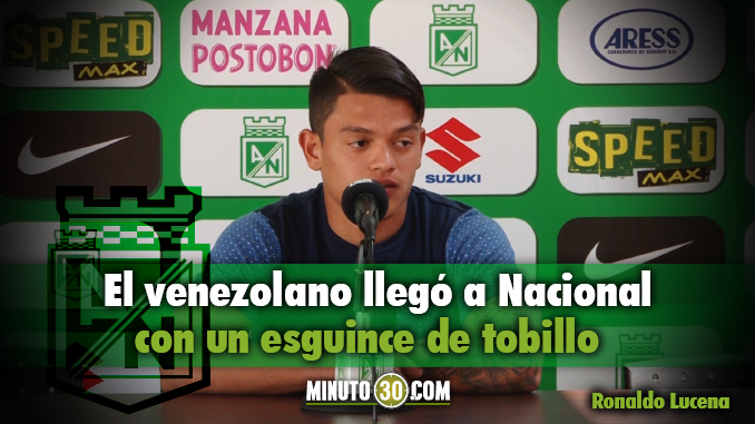 Ronaldo Lucena recuperacion