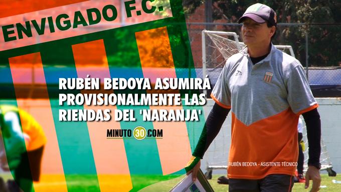 Ruben Bedoya tecnico Envigado