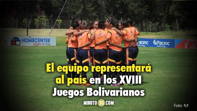 Seleccion Cololombia femenina