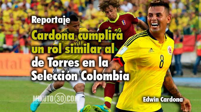 Seleccion Colombia Torres habla de Cardona