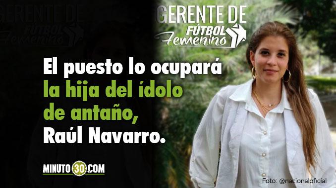 Sofia Navarro Nacional hija Raul Navarro