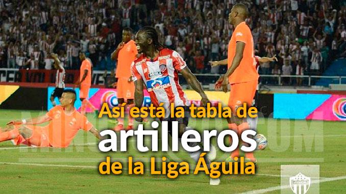 Tabla goleadores Liga2