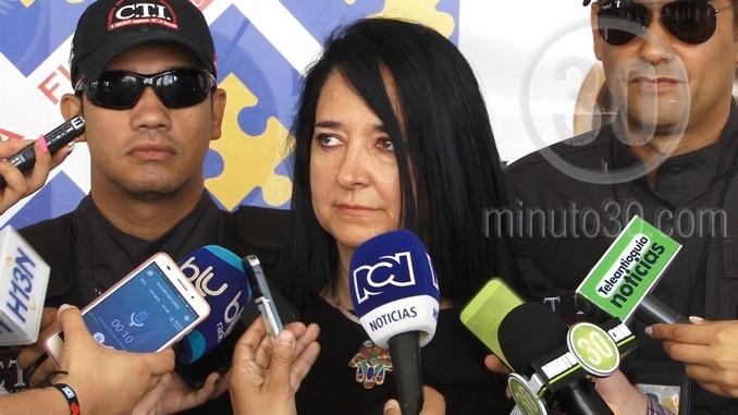 Adriana Villegas Arango, directora seccional (e) de Fiscalías de Medellín