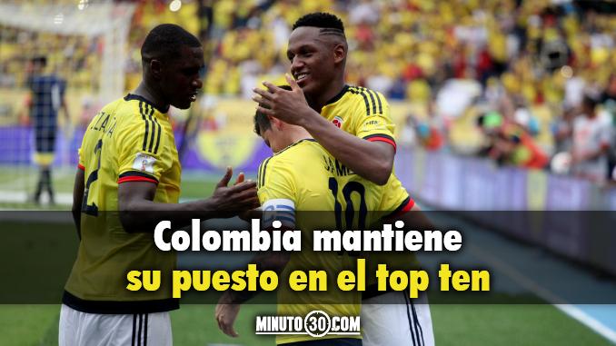 colombia puesto top ten