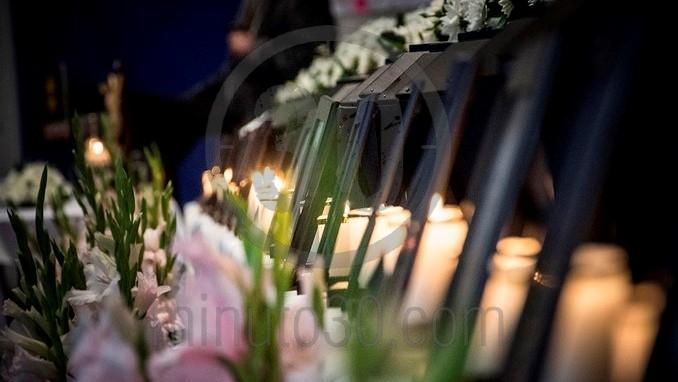 En Medellín la Fiscalía entregó los restos de 21 víctimas del conflicto armado