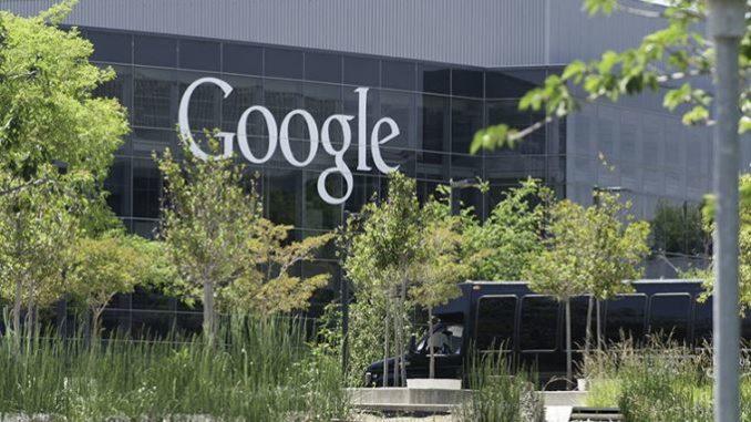 Vista de las oficinas de Google en California. EFE/Archivo