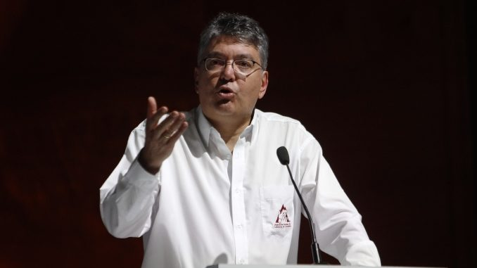 El ministro de Hacienda, Mauricio Cárdenas Santamaría