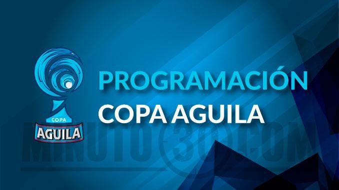 programacion Copa Aguila 1