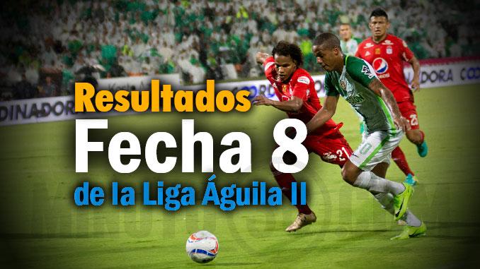 resultados feccha8 Liga