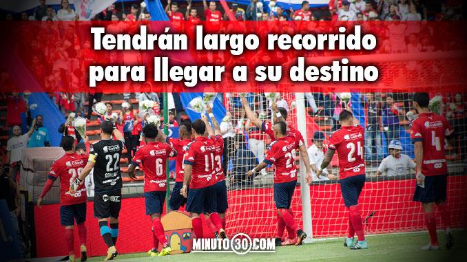 A jugadores del Medellin les toco madrugar