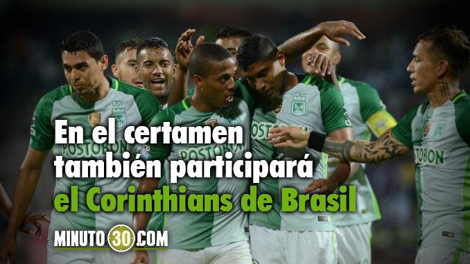 Atletico Nacional invitado a Copa internacional