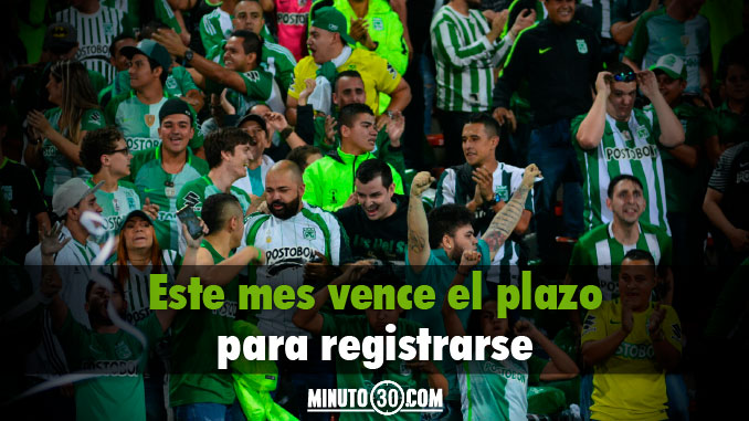 Atletico Nacional Hinchas