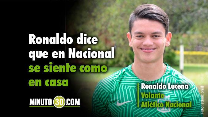 Atletico Nacional Ronaldo Lucena
