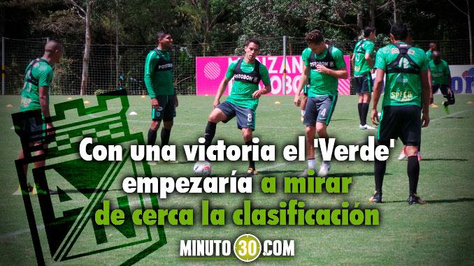 Atletico Nacional entrenamiento