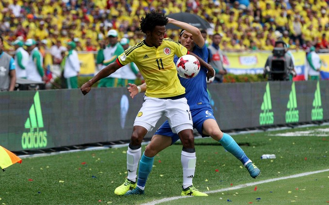 Colombia Brasil 2