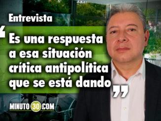 Nicolás Albeiro Echeverry - Representante a la Cámara. Foto/Minuto30