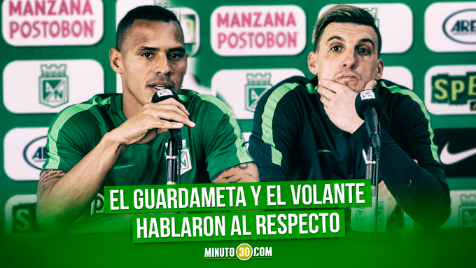 Les preocupa a Armani y a Aldo que Nacional este jugando mal