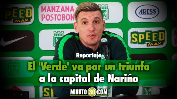 Nacional viaja a Pasto con la moral en alto Franco Armani