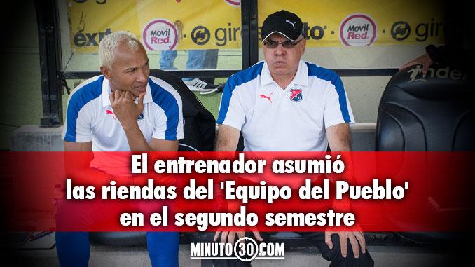 Pelaez hace balance de su periodo en Independiente Medellin