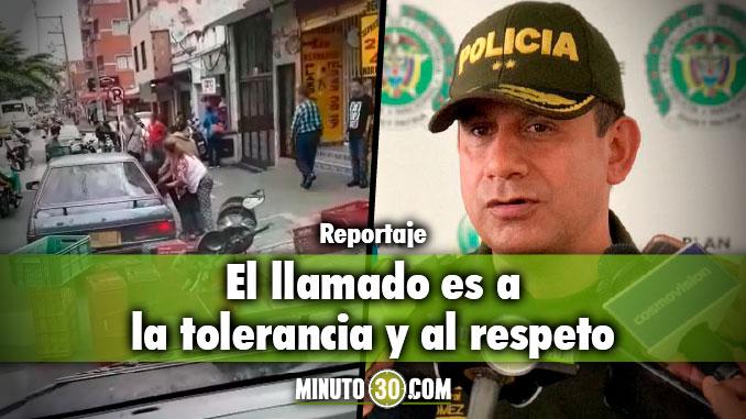 General Óscar Gómez Heredia - Comandante Policía Metropolitana. Foto/Minuto30