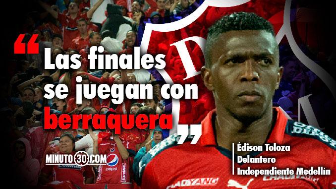 Previa Medellin Cali Semifinal Copa Aguila Edinson Toloza