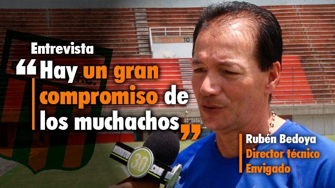 Ruben Bedoya previa envagado Nacional