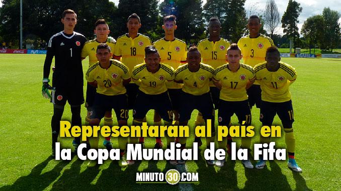 Seleccion Colombia Sub 17
