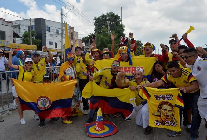 Seleccion Colombia hinchas 7