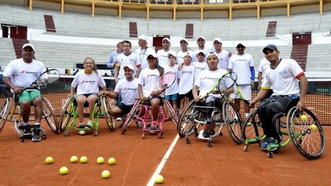 Team Babolat tenistas colombianos