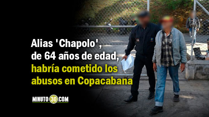 A prisión alias 'Chapolo', un reciclador señalado de abusar de tres menores de edad