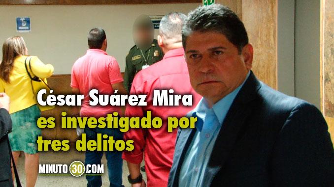 César Suárez Mira, alcalde suspendido de Bello