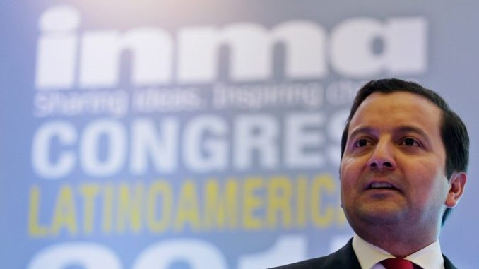 En la imagen, el ministro de Tecnologías de la Información y las Comunicaciones de Colombia, David Luna. EFE/Archivo